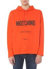 MOSCHINO - FELPA CON CAPPUCCIO