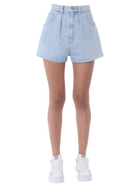 Alberta Ferretti - Cotton Denim Short