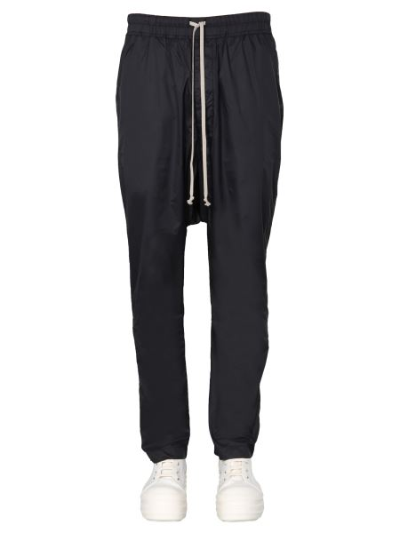Rick Owens Drkshdw - Pantalone In Nylon Con Coulisse