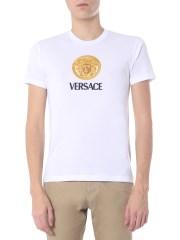 VERSACE - T-SHIRT GIROCOLLO