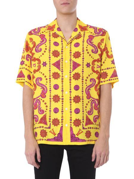 Versace - Western Baroque Print Short-sleeved Shirt