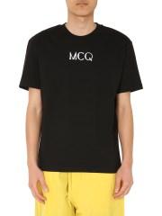 MCQ ALEXANDER MCQUEEN - T-SHIRT GIROCOLLO