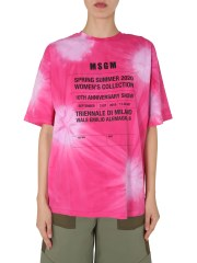 MSGM - T-SHIRT OVERSIZE FIT