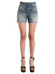 SAINT LAURENT - SHORT IN DENIM