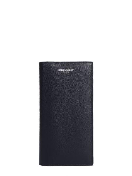 Saint Laurent - Saint Laurent Classic Paris Continental Wallet In Powdered Grain Leather