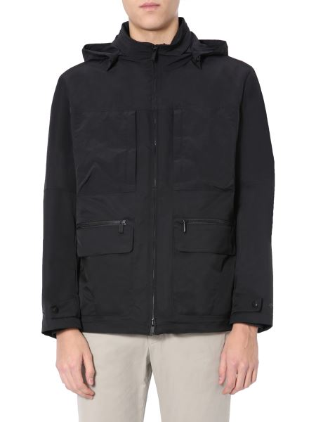 Z Zegna - Jacket With Removable Hood