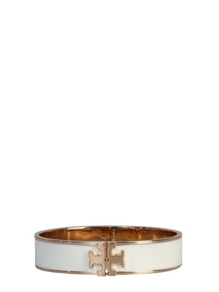 Tory Burch - Brass Bracelet With Logo