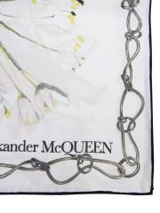 ALEXANDER McQUEEN - FOULARD CON STAMPA