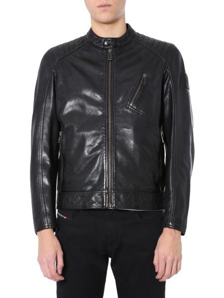 """Belstaff - """"v Racer"""" Leather Jacket"""