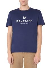 BELSTAFF - T-SHIRT GIROCOLLO
