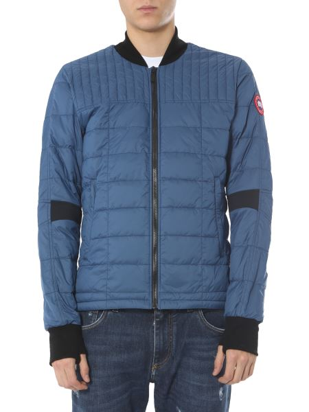 """Canada Goose - """"dunham"""" Quilted Down Jacket With Knitted Details"""