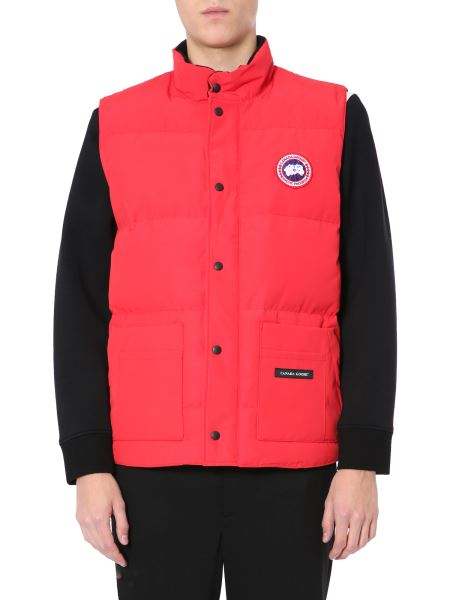"""Canada Goose - """"freestyle"""" Sleeveless Down Jacket With Logo Patch"""
