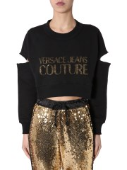 VERSACE JEANS COUTURE - FELPA OVERSIZE FIT