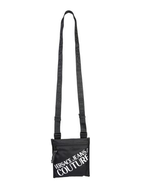 Versace Jeans Couture - Nylon Crossbody Bag With Logo