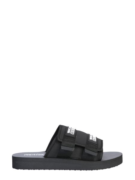 Versace Jeans Couture - Slide Sandal With Logo