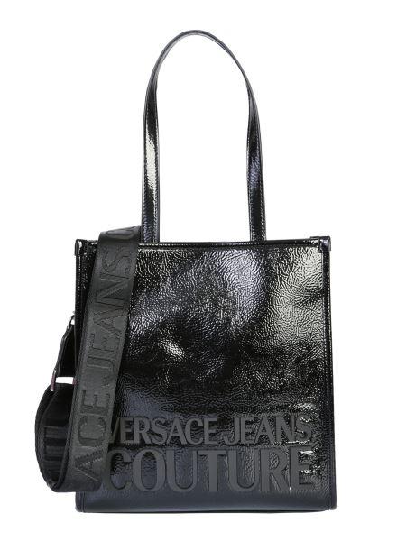 Versace Jeans Couture - Borsa Tote Small Con Logo In Vinile