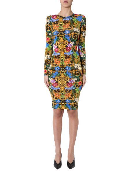 Versace Jeans Couture - Baroque Print Lycra Dress