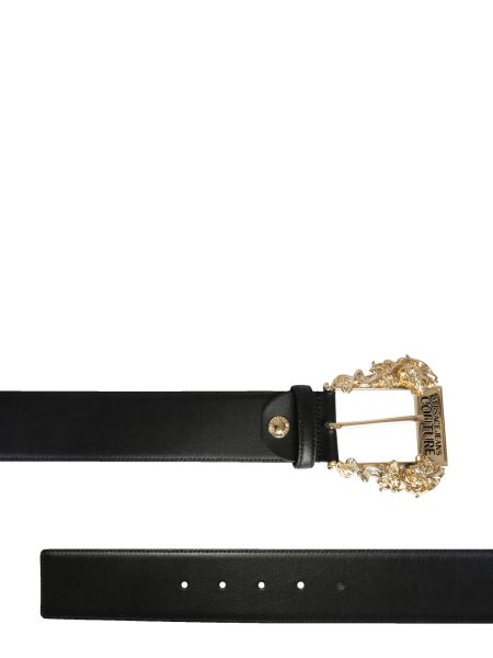Versace Jeans Couture - Leather Belt With Logo