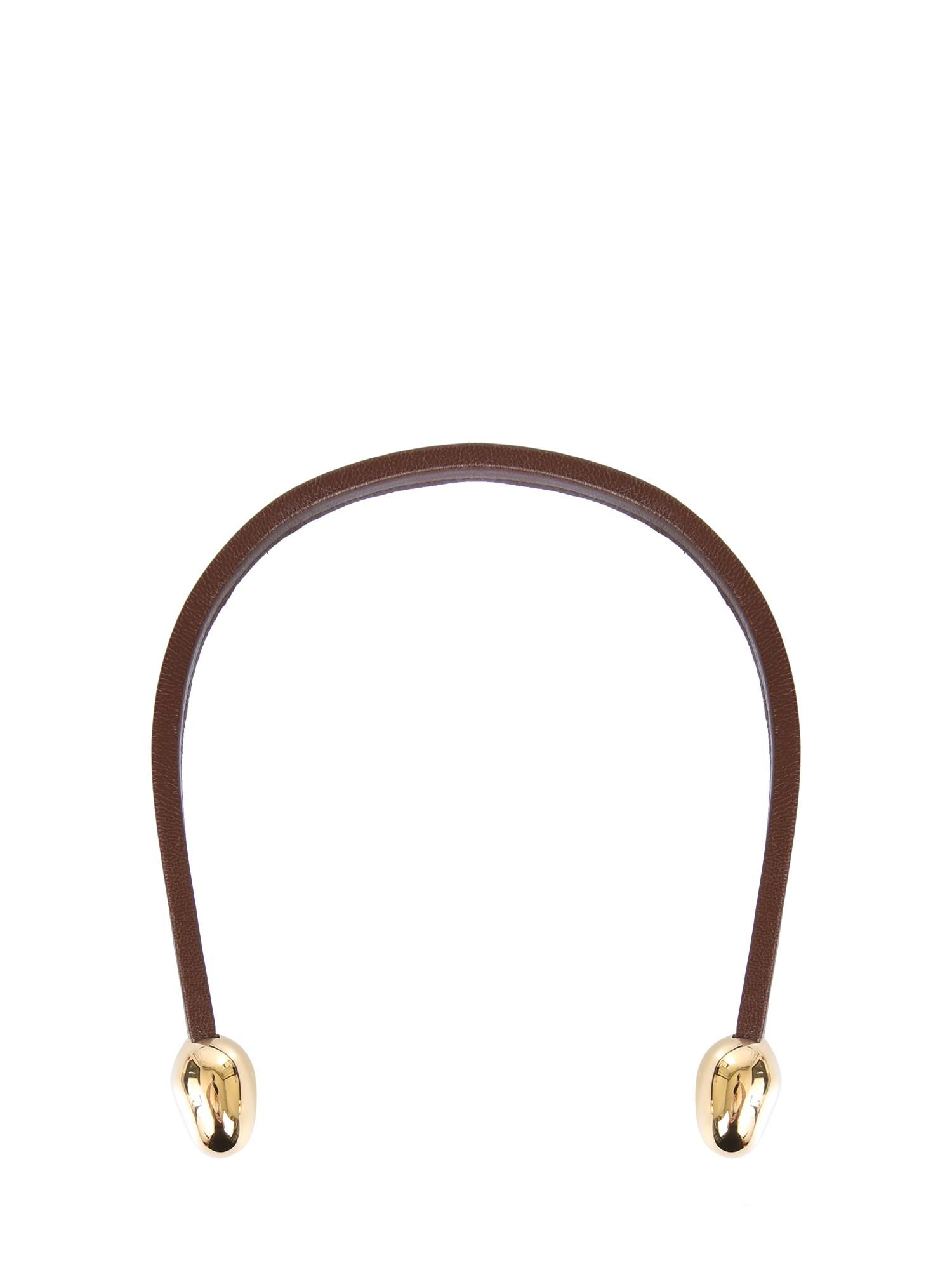 bottega veneta leather necklace