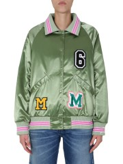 MM6 MAISON MARGIELA - BOMBER CON PATCH