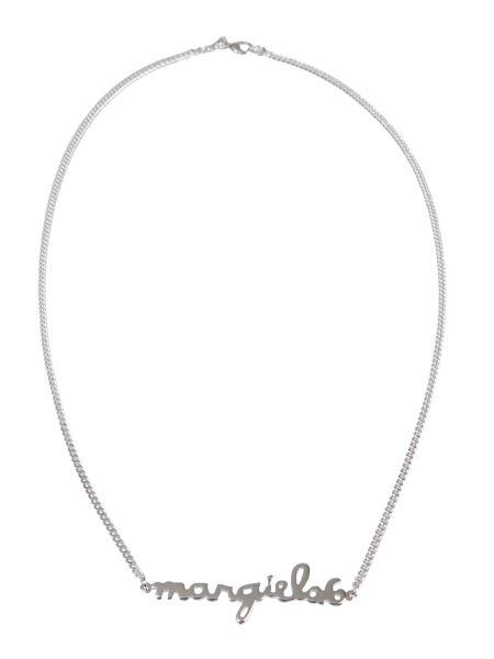 Mm6 Maison Margiela - Necklace With Lettering Logo