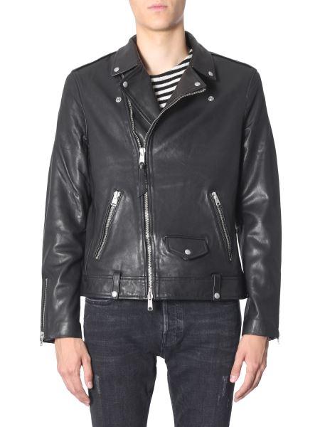 Allsaints - Milo Leather Biker Jacket