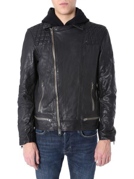 "Allsaints - ""conroy"" Leather Jacket"