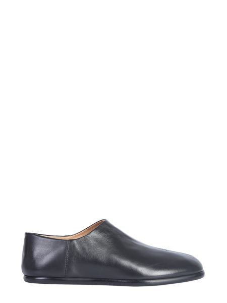 Maison Margiela - Flat Leather Tabi Without Laces