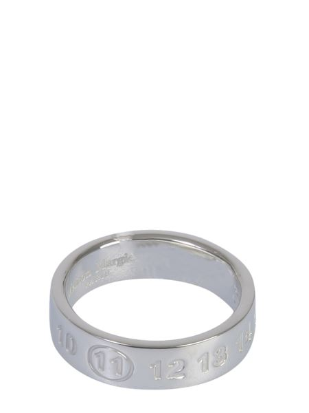 """Maison Margiela - """"numbers"""" Silver Ring"""