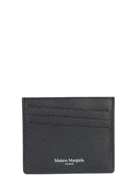 Maison Margiela - Leather Card Holder With Logo