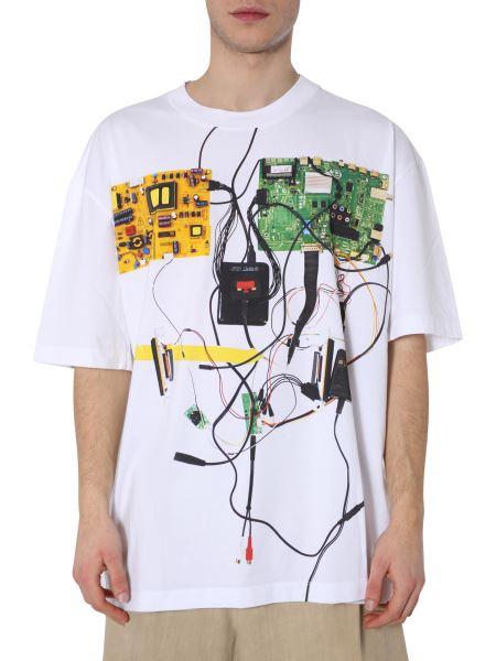 Maison Margiela - Printed Oversize Fit Cotton T-shirt