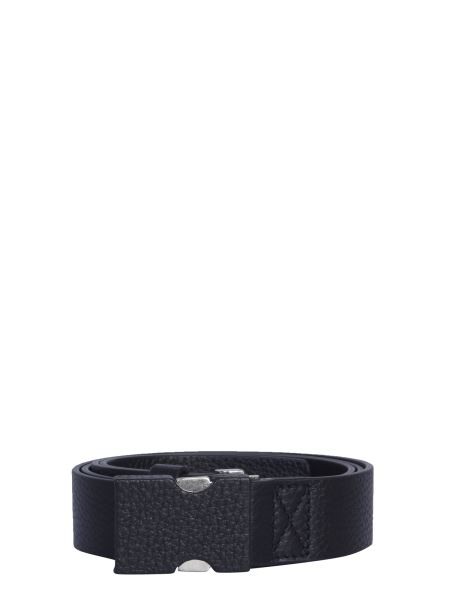 Maison Margiela - Leather Belt With Clip Closure