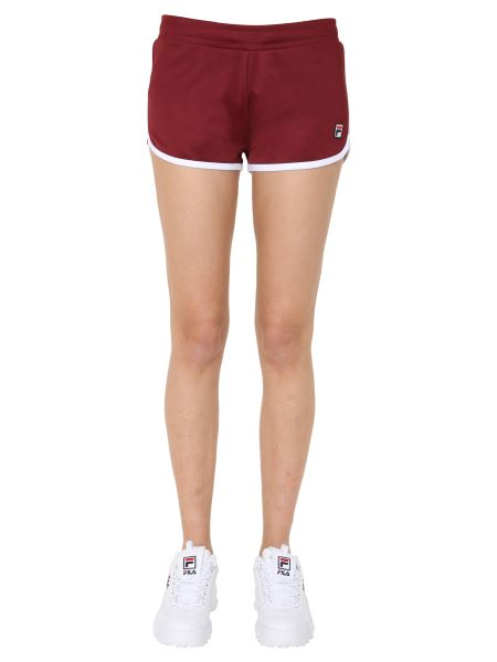 """Fila - """"saman"""" Coulisse Shorts With Contrasting Profiles"""