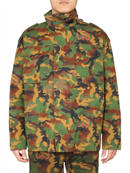 Off-white - Camouflage Padded Jacket