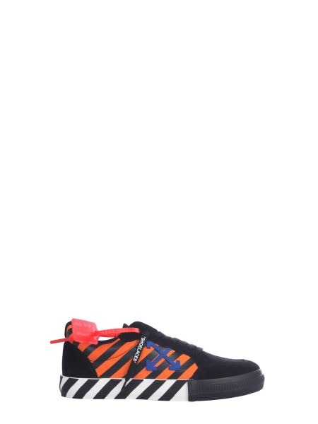 Off-white - Low Cotton Sneaker With Vulcanized Sole
