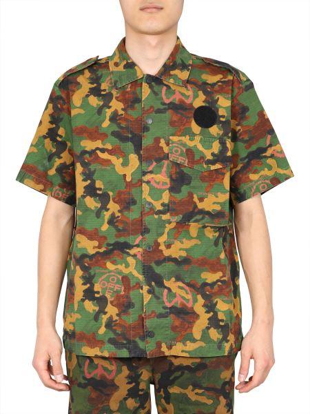 Off-white - Camicia Camouflage