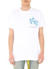 OFF-WHITE - T-SHIRT GIROCOLLO