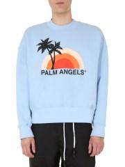 PALM ANGELS - FELPA GIROCOLLO