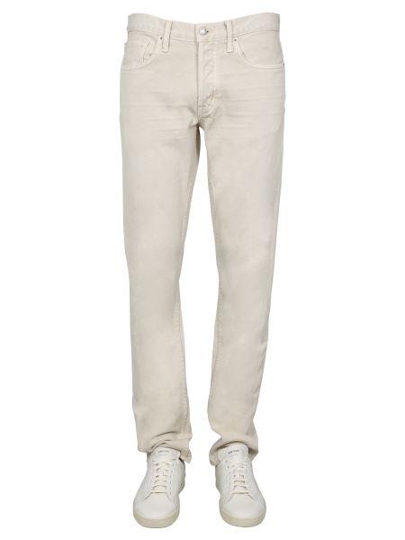Tom Ford - Jeans Slim Fit In Denim Di Cotone