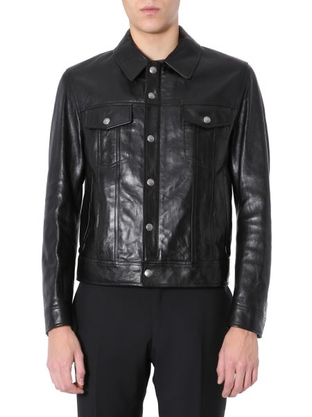 Tom Ford - Western Worked Leather Jacket