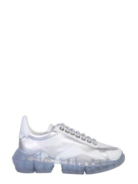 Jimmy Choo - Diamond Leather Sneakers