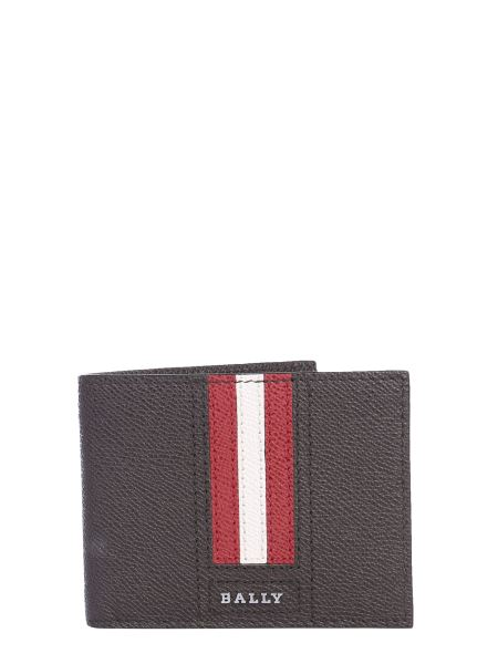 Bally - Tevye.lt Leather Wallet With Logo Band