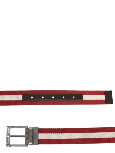 Bally - Tamal Canvas And Leather Belt
