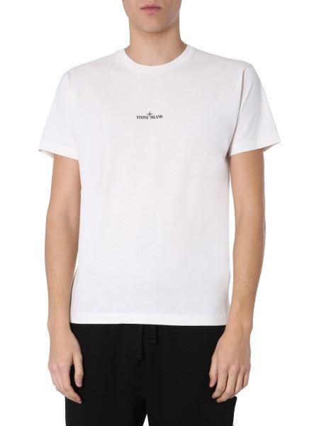 "Stone Island - ""drone Two"" Crew Neck Cotton T-shirt"
