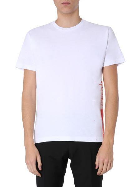 "Stone Island - ""drone One"" Crew Neck Cotton T-shirt"