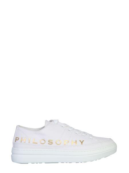 Philosophy Di Lorenzo Serafini - Canvas Sneakers With Logo