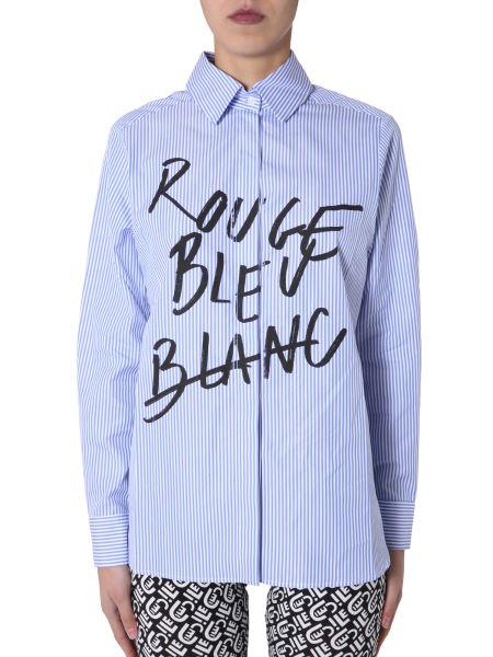 """Être Cécile - """"rrb And Dots Petite Amie"""" Cotton Shirt With Print"""