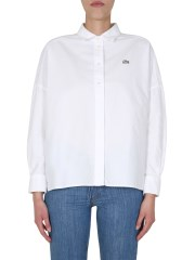 LACOSTE - CAMICIA OVERSIZE FIT
