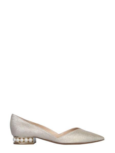 Nicholas Kirkwood - Ballerina Casati D'orsay In Lurex