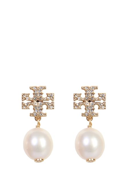 Tory Burch - Kira Earrings With Brass Logo
